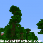 Minecraft Seeds | Artomix | Jungle view of island