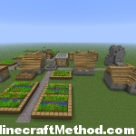 Minecraft SuperFlat Seed | lostlostlost | NPC Village