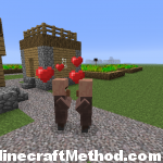 Minecraft Flat Seed | lostlostlost | Villagers making little villagers