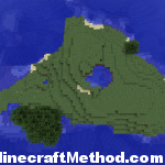 Minecraft Seeds | whywontyoujustletmebe | Island Overview