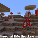 1.2.3 Minecraft Seeds | whywontyoujustletmebe | Mooshrooms on mushroom biome