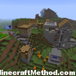1.2.3 Minecraft Seeds | 791396491 | Hilltop NPC Village