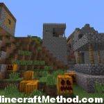 1.2.3 Minecraft Seeds | 791396491 | NPC Village with pumpkins