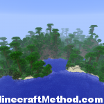 Minecraft Seeds 1.2.3 | i dont care | jungle biome island view