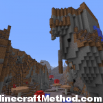 Minecraft Seeds | i dont care | mushroom biome with waterfall