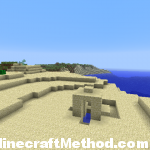 Minecraft Seeds | 4629091465175177150 | Desert Building