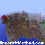 Minecraft Seeds 1.2.3 | 4629091465175177150 | Huge Mushroom Biome