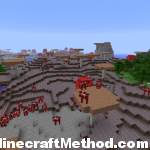 Minecraft Seeds 1.2 | 4629091465175177150 | Tons of Mooshrooms