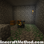 Minecraft 1.2.3 Seeds | 1775670011282668560 | Spider dungeon