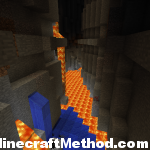 Minecraft Seeds 1.2.3 | Odd Future | Lava in Ravine