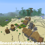 1.2.4 Minecraft Seeds | Dovahkiin | NPC Village