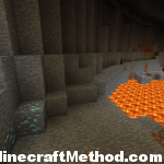 1.2.4 minecraft seeds | Fortress | exposed diamonds in ravine