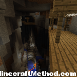 1.2.4 seeds | Fortress | Abandoned mineshaft above ravine