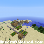 minecraft world seeds | Fortress | npc village