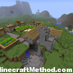 Cool Minecraft Seeds | Cutman | npc village
