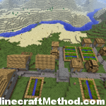 1.2.5 Minecraft Seeds | 2525617506084080286 | NPC village