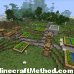 Minecraft Seeds | 2525617506084080286 | NPC village 2