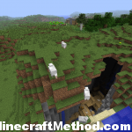 Minecraft 1.2 Seeds | 2525617506084080286 | Ravine and Mineshaft