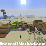 Good Minecraft Seed | -8227252585264349741 | view of npc village