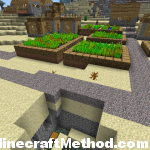 1.2.5 Minecraft Seeds | -8227252585264349741 | village with dungeon in view