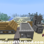 Minecraft 1.2.5 seeds | robinhood | second npc village