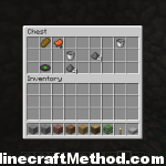 minecraft 1.2.5 seeds | werewolf | chest contents with a green record