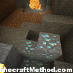 minecraft seed | werewolf | diamonds near lava lake