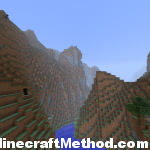 1.2 minecraft seed | werewolf | river through mountain range