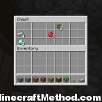 seeds for minecraft | blacksmiths chest with diamonds