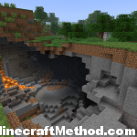 seeds for 1.2.5   huge pit with lavafall