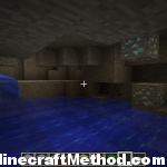 minecraft world codes | diamonds visible in pit