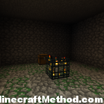 dungeon with a chest in this epic minecraft seed