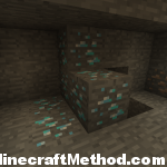 tons of diamonds in the minecraft world -881714694