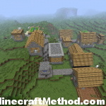 -568688860 1.4.6 seed | village with blacksmith and chest