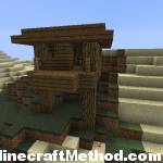 1.4.6 minecraft | -568688860 | witches hut with cauldron