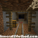 1.4 seed called samsung for minecraft pc | mine shaft chest and ores