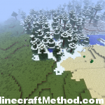 Minecraft world seed New World Biomes