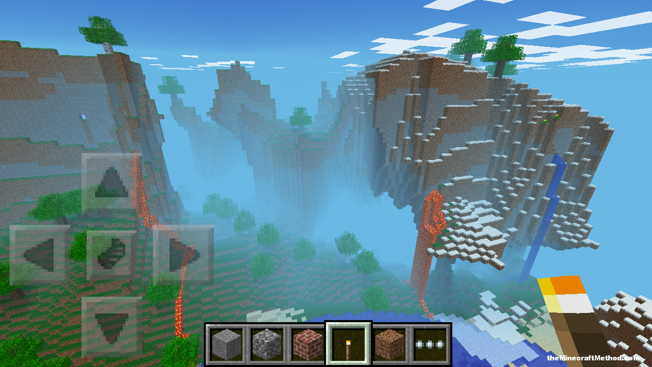 nyan seed for minecraft pe