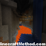 Lava lake at bottom of ravine | 2101543896876727983