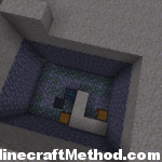 surface dungeon in the desrt in minecraft