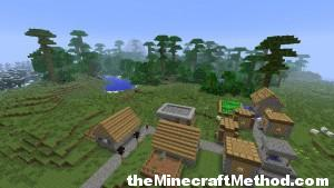 A town in the plains near the jungle