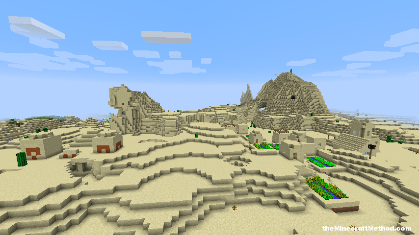 EPIC MINECRAFT 1.8 SEEDS