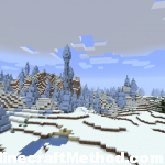Frost Scorched Earth: Ice-world Minecraft Seed