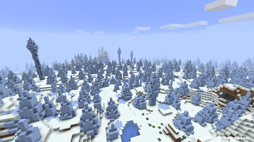 Challenging ice world biome for minecraft