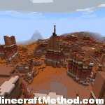Minecraft Mesa Seed – Martian Adventure