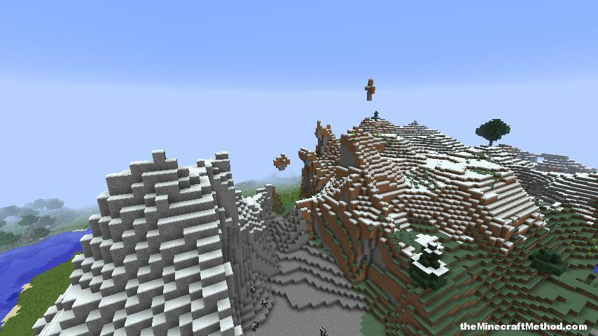 Rocky mountain minecraft 1.8 seed