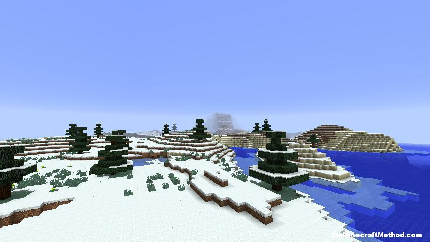 Minecraft Snow World