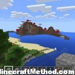 Minecraft Seed for Pocket Edition: Mushroom Island