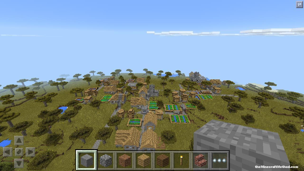 Village Seed for minecraft PE