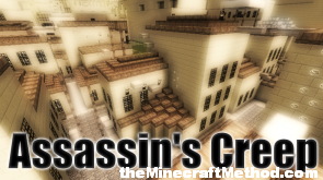 Assassins creep minecraft map